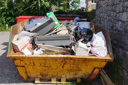 wywóz śmieci po remoncie